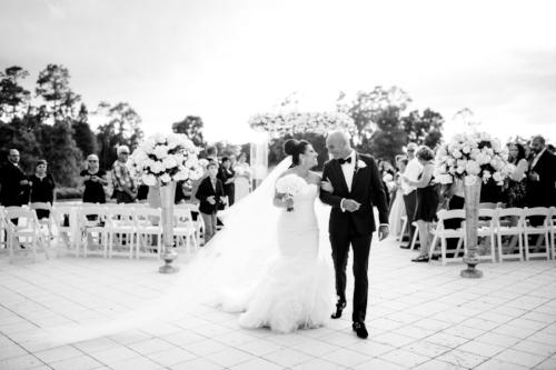 lisa stoner events- luxury wedding ceremony-stylish weddig- white wedding details-bride and groom-Signature Isle wedding- waldorf astoria ceremony.jpg