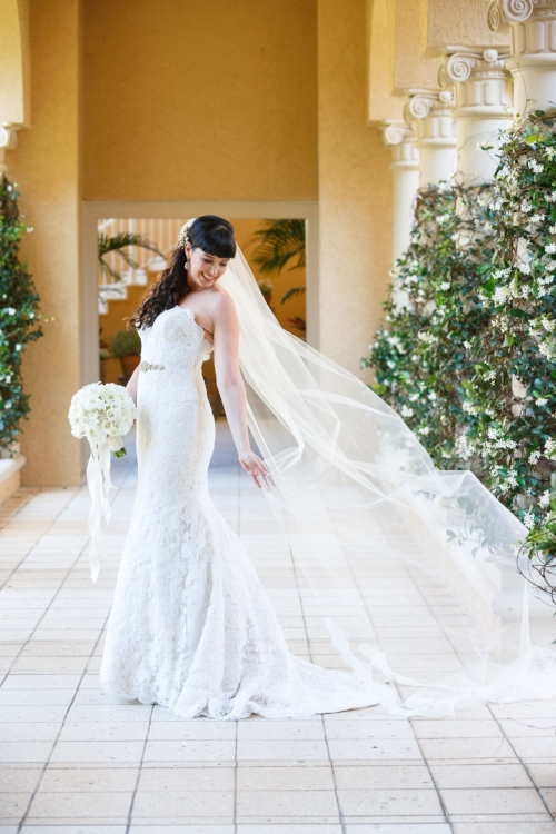 lisa stoner events- central florida luxury weddings - luxury wedding planner - bridal portraits - Ines DeSanto gowns - white bridal bouquet- white mermaid wedding gown.jpg