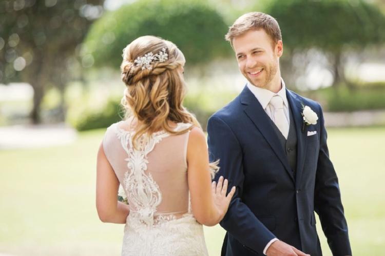 lisa stoner event planning - roots photography- ritz carlton orlando- elegant orldano wedding - calla blanche gown - first look - bride and groom- central florida luxury wedding planner.jpg