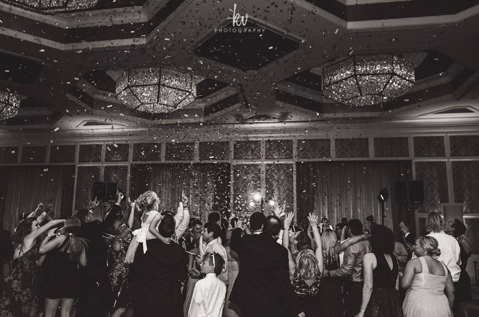 lisa stoner events- orlando wedding reception - four seasons orlando wedding reception - confetti at wedding reception- dancefloor - confetti.jpg