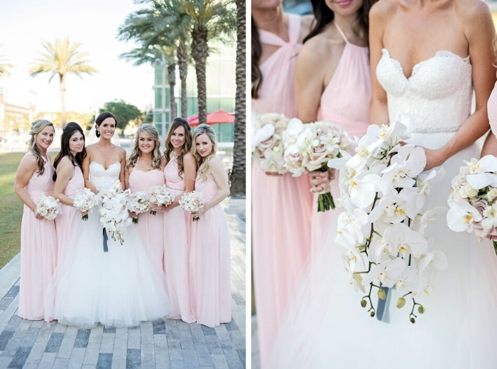 lisa stoner weddings- downtown orlando wedding - wedding party- bridesmaids- white orchid bridal bouquet - bride- romona keveza.jpg