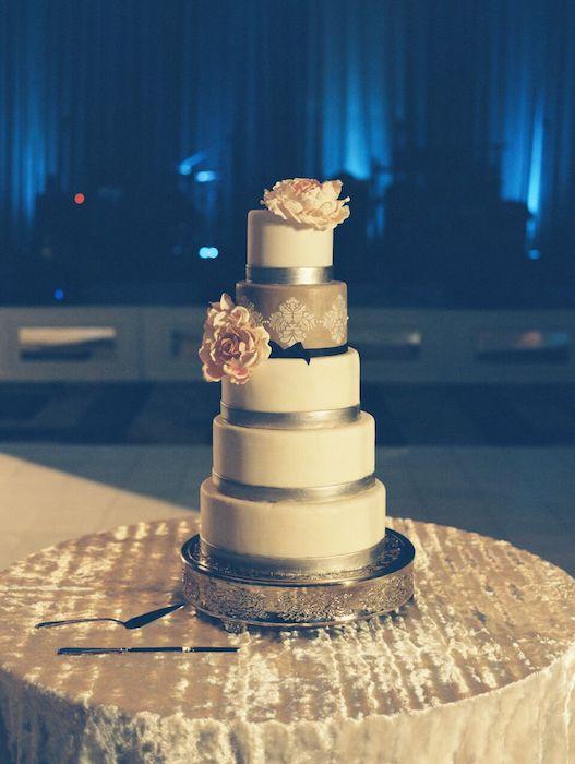 Lisa Stoner Events- Orlando Luxury wedding planner – Orlando wedding planner – best wedding planner in Orlando – central Florida wedding planner – Orlando wedding - ritz carlton orlando - five tiered wedding cake - white wedding cake.jpg