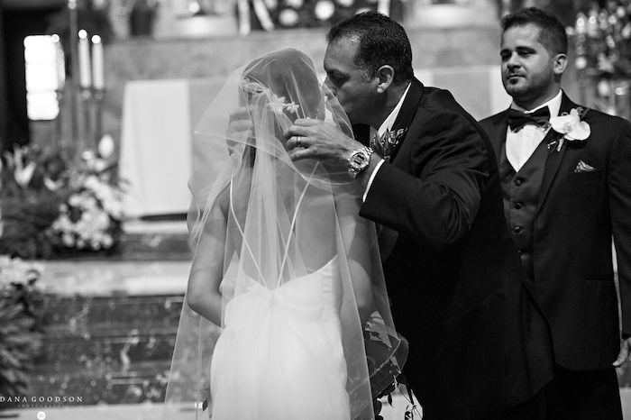 5- Lisa Stoner Events – St Augustine Wedding Ceremony – Cathedral Basilica of St Augustine – Armenian wedding – Luxury North Florida Wedding Planner – fathers kiss.jpg