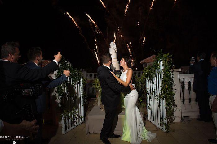 17- Lisa Stoner Events – Hammock Beach Resort -Armenian wedding reception – Luxury North Florida Wedding Planner – Hammock Beach Wedding Reception – fireworks for the bride .jpg