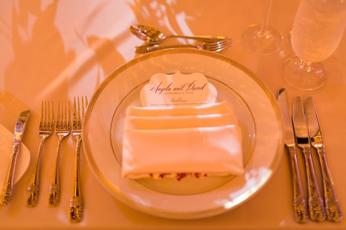 21-Lisa Stoner Events- Ritz Carlton Orlando – Orlando luxury wedding planner – Ritz Carlton Orlando wedding-formal place setting with custom menu card.jpg