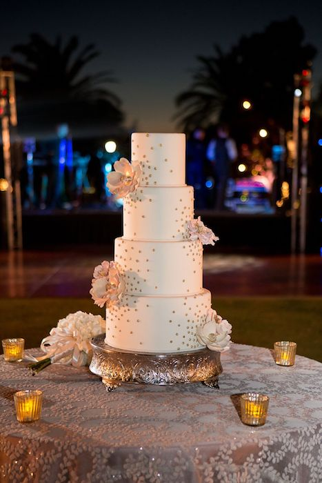 Lisa Stoner Events – Lisa Stoner Wedding - Orlando luxury wedding planner- Ritz Carlton Orlando - Ritz Carlton Orlando outdoor reception - wedding cake.jpg