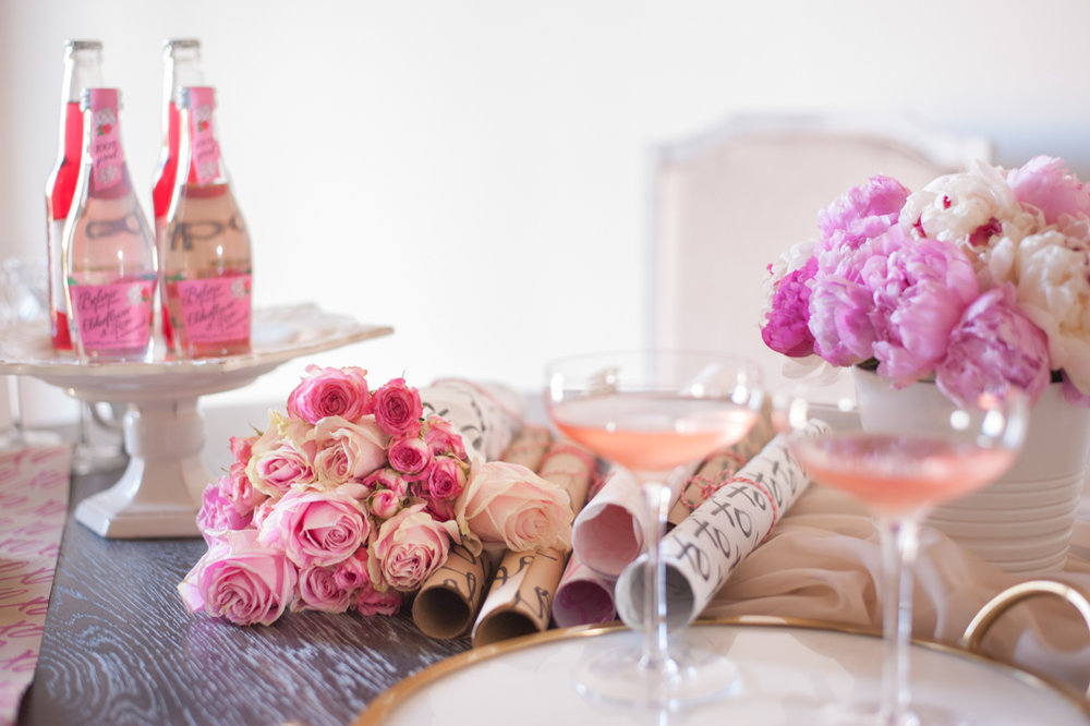 Valentine's Day Table + Lisa Stoner + Abby Liga
