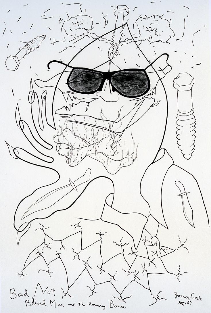 Bad Nut Blind Man and the Burning Bones, 1987