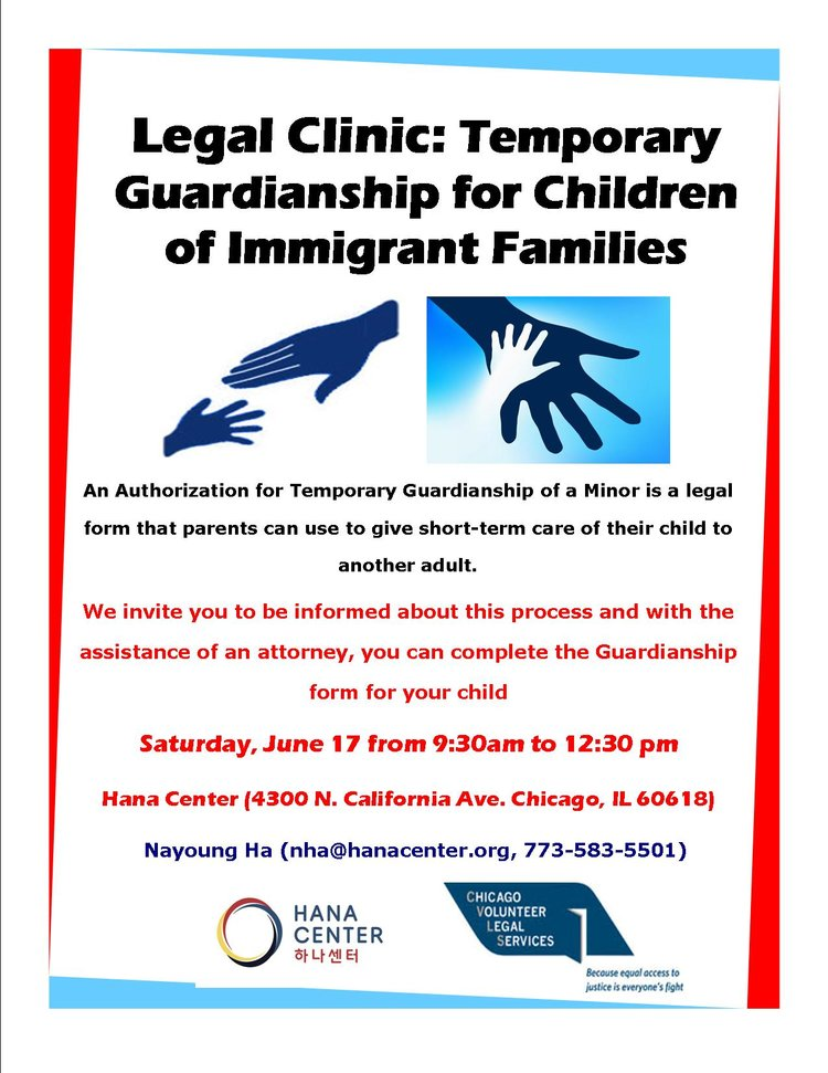 Legal Clinic Temporary Guardianship For Children Of Immigrant