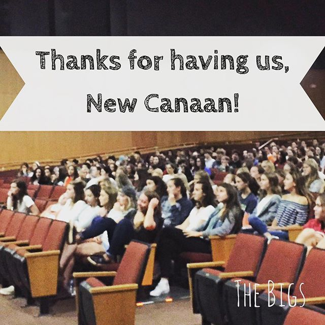We had a great time talking to New Canaan High School seniors about how to choose, get, and do a great job!