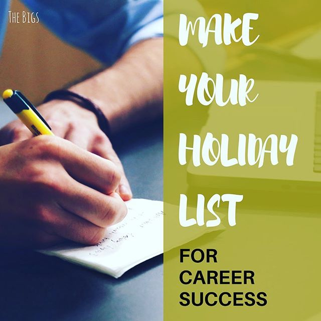 Have you started drafting your holiday wish list? Don't forget to also think about your career. Check out the list Ben drafted for his daughter as she entered the workforce. Follow I️t yourself and you'll also find success! Link in bio.