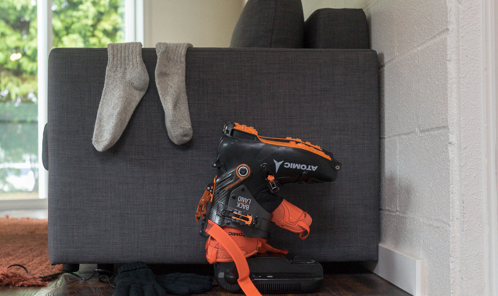 Get back out there faster with a boot dryer.
