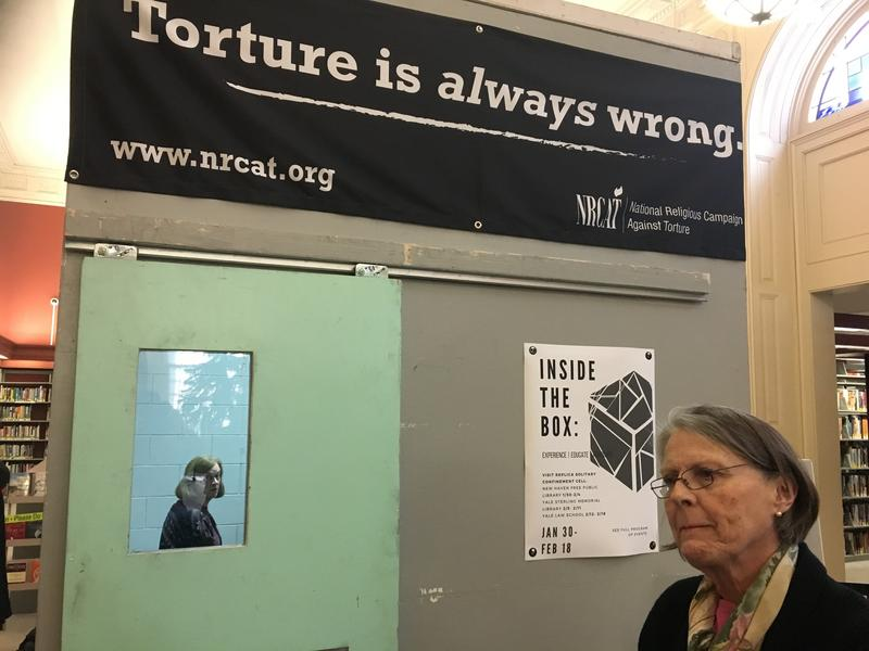 Credit: DAVIS DUNAVIN / WSHU http://wshu.org/post/inside-box-exhibit-shows-life-solitary-confinement