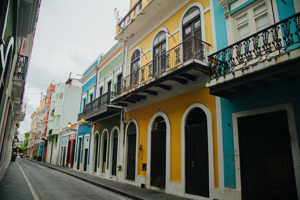 Old San Juan , Puerto Rico