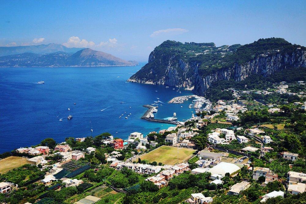 Island of  Capri , Italy