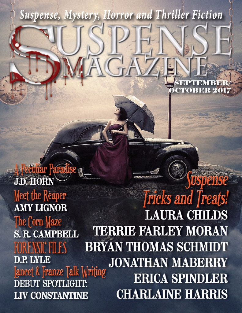 Vol. 78 of Suspense Magazine, in which this story first appeared.