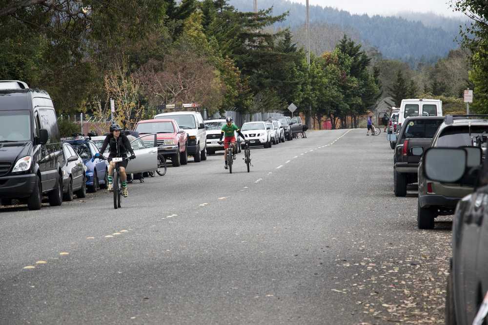 Taylor way was crowded with cars from the substantial turnout