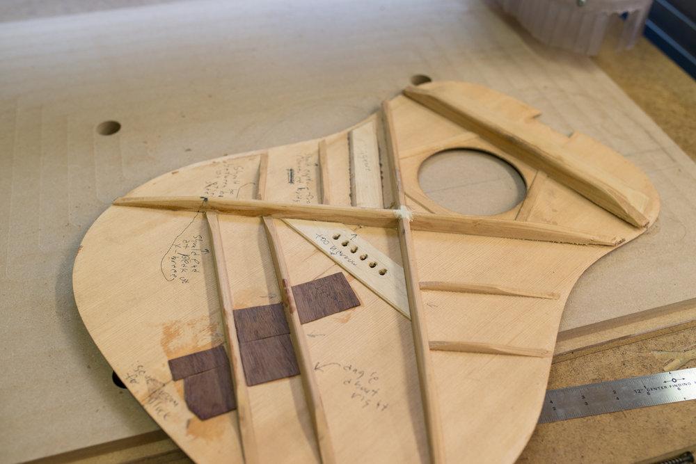 Custom handmade guitar.