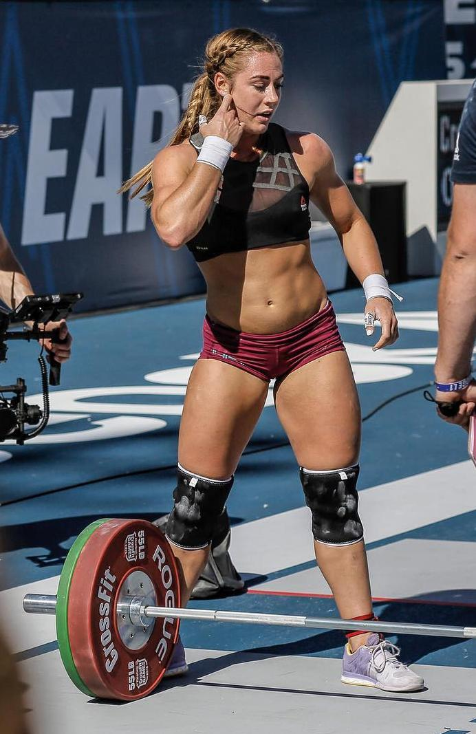 Brook Wells - Brook is a two time CrossFit games athlete who made her first appearance at the Games in 2015 at 19 years old. She took sixth place at the 2016 CrossFit Games.