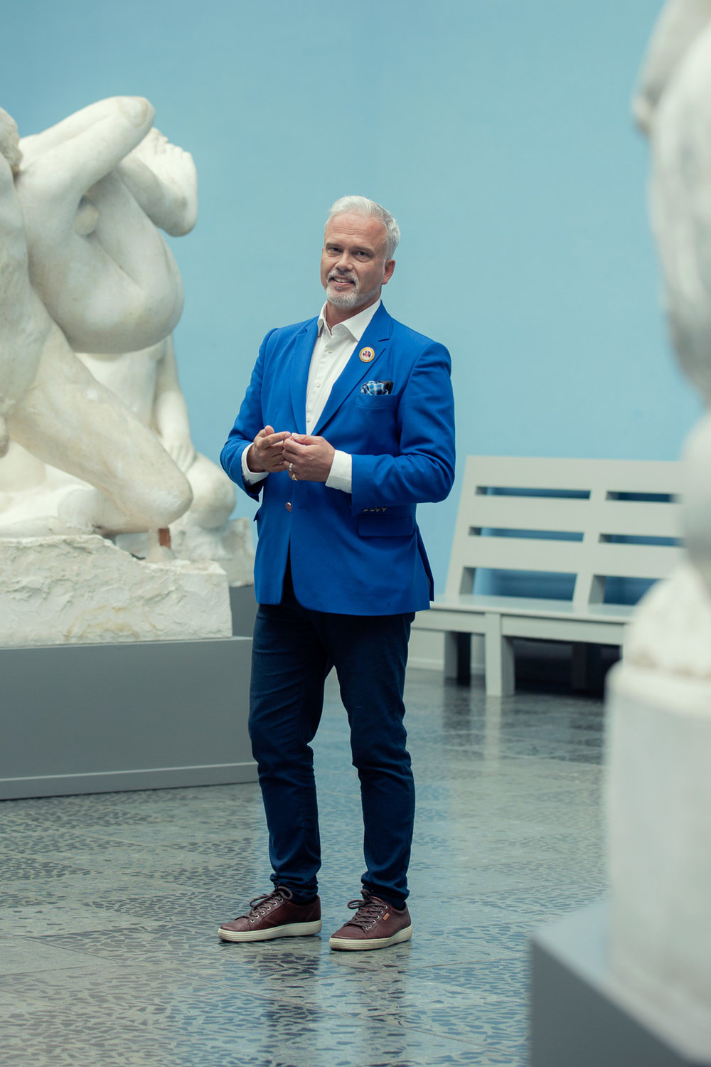 Certified Oslo Guide, Richard Klingspor.  Photo: Live – Private Guided Tours / The Vigeland Museum
