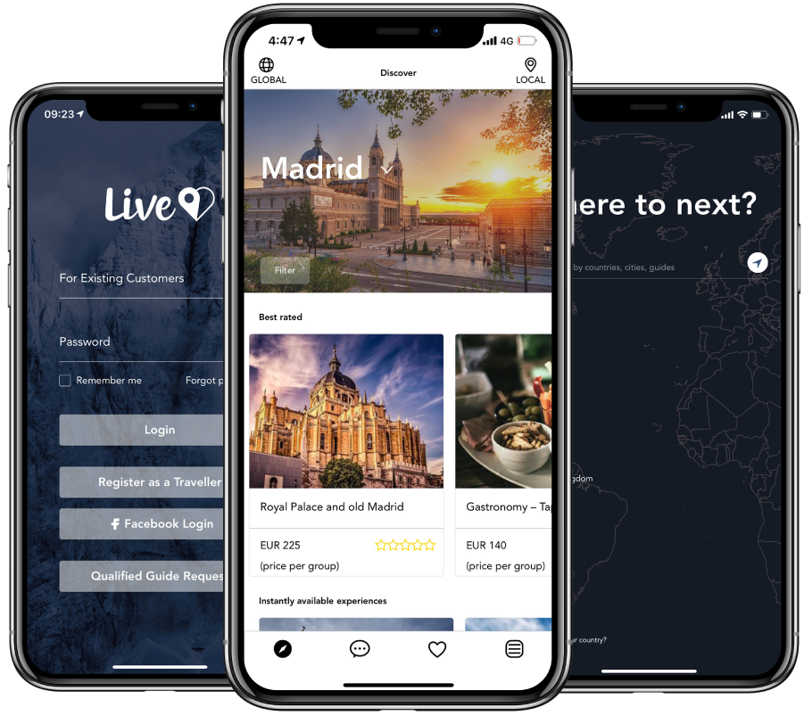 Live App Madrid