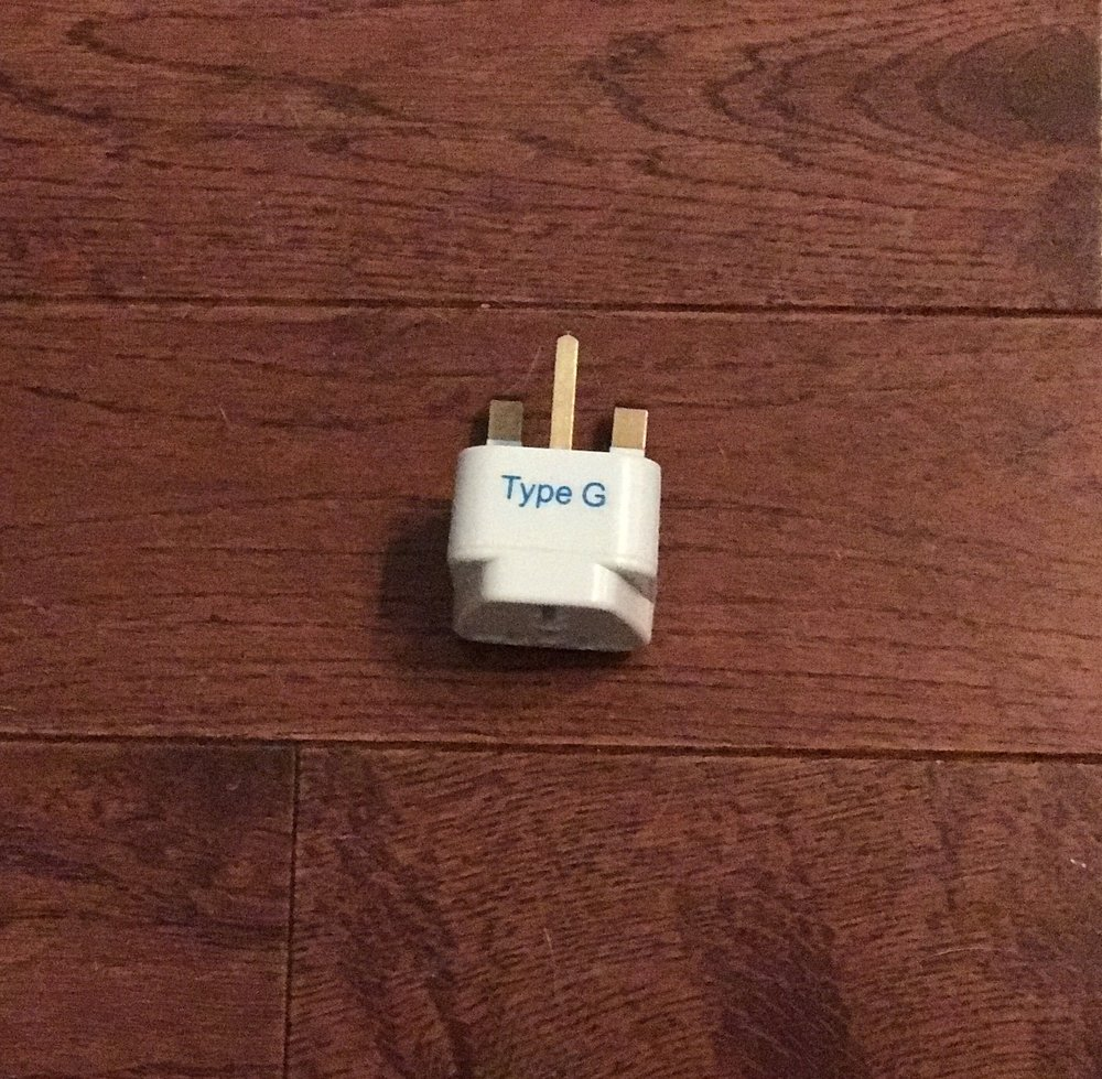 An outlet converter I bought on Amazon