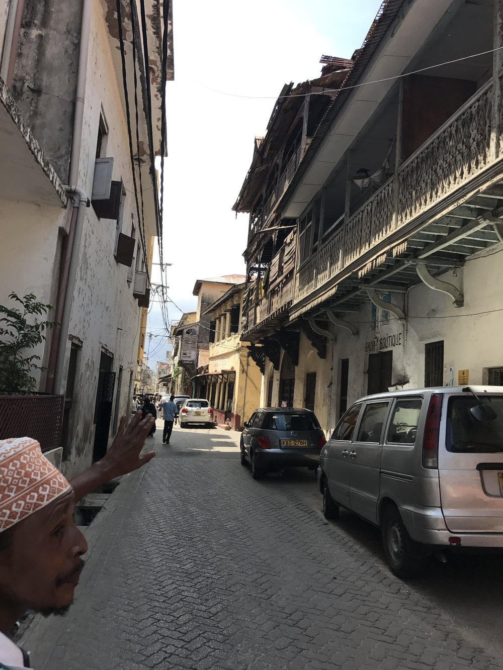 Walking through Mombasa's Old Town