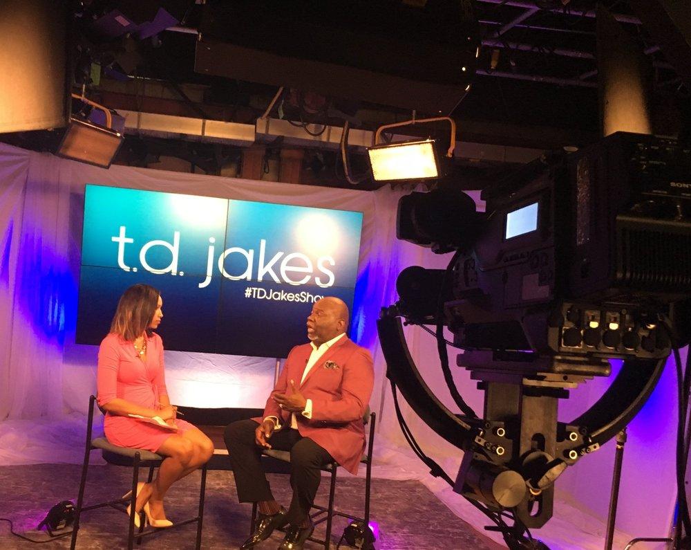 Pastor & Talk Show Host T.D. Jakes (2016)