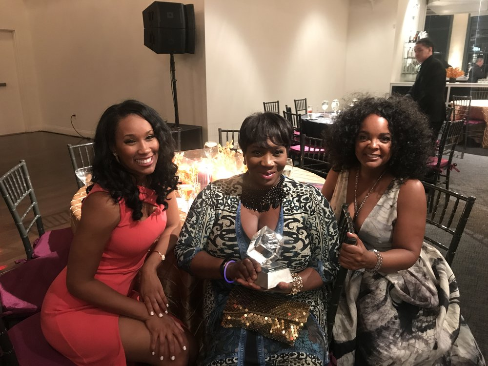 TV personality & fashion expert Bevy Smith was honored at the gala