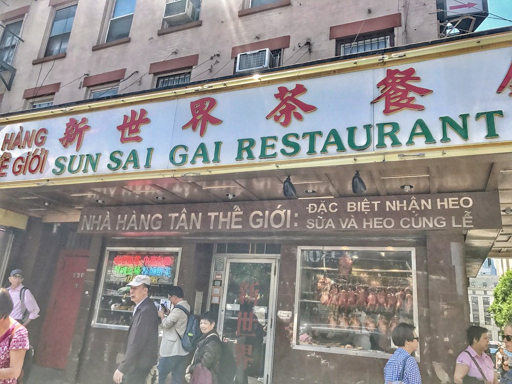 A yummy Chinatown restaurant
