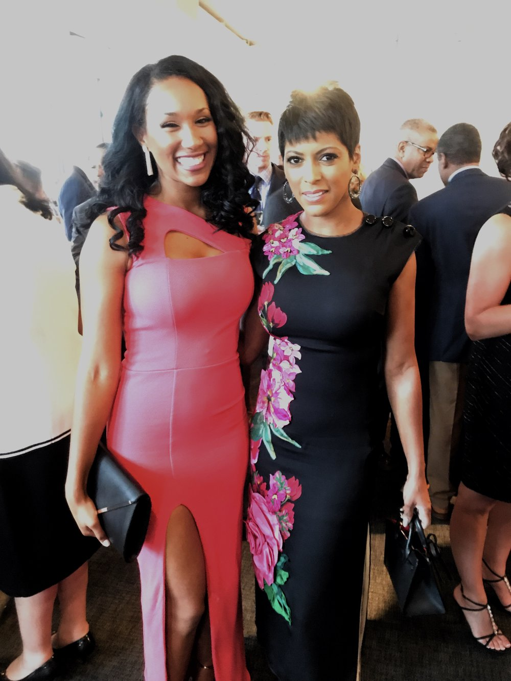 Got to meet journalist Tamron Hall!