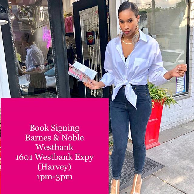 Imma let y'all finish making your weekend plans but I'm signing books at the Westbank Barnes & Noble Saturday from 1pm-3pm Or order your copy ShebaTurk.com #offair