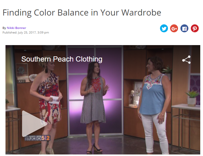 Studio 512 and Southern Peach Clothing