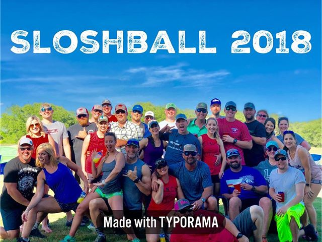 Sloshball 2018! What is sloshball you ask? It's kickball with kegs and it's hilarious & awesome😂😂