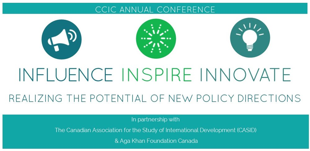 (photo: CCIC members, 2016 CCIC Annual Conference 'Fit for Purpose?')