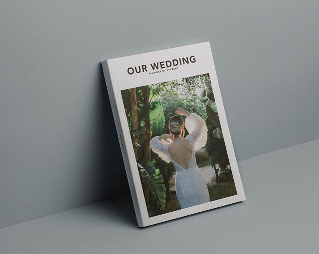 "NEW: We're launching our wedding planner in English! Check it out at http://everbay.shop (link in bio) 🖤 We created our wedding planner few years ago to help future brides through the whole planning process and to be a nice memory years after the wedding. The book got a minimalistic design, so that your notes can ""breathe"" on the paper, and we sneaked in some inspiration too with our photos from various weddings from all around the world. Now the book is in English language!"