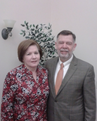 Pastor Mike and Alida Andrews