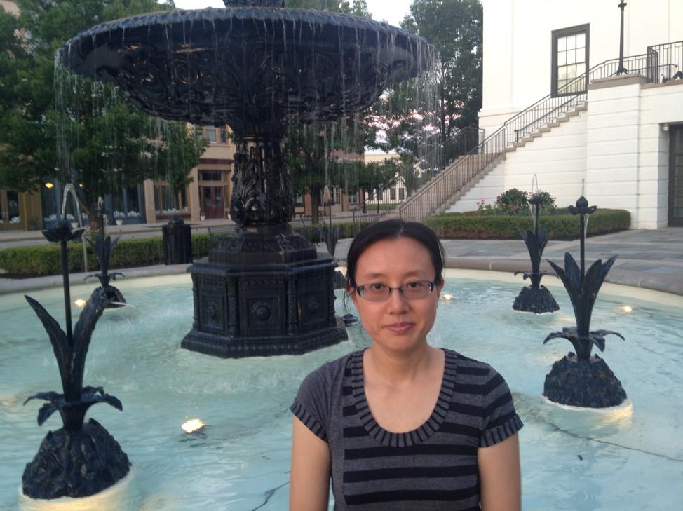 Dr. Li Xing while during her postdoc at Indiana University - Purdue University Indianapolis (IUPUI). Photo Courtesy: Li Xing.