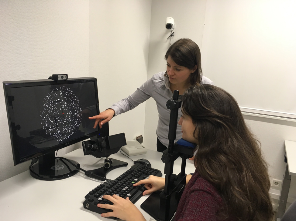 Dr. Anne Urai while working in Brain and Cognition group at the University of Amsterdam.Photo Courtesy: Anne Urai.