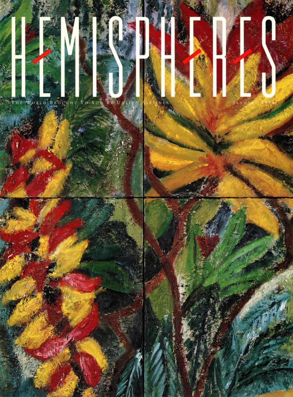United Airlines' Hemispheres Magazine - May 1994