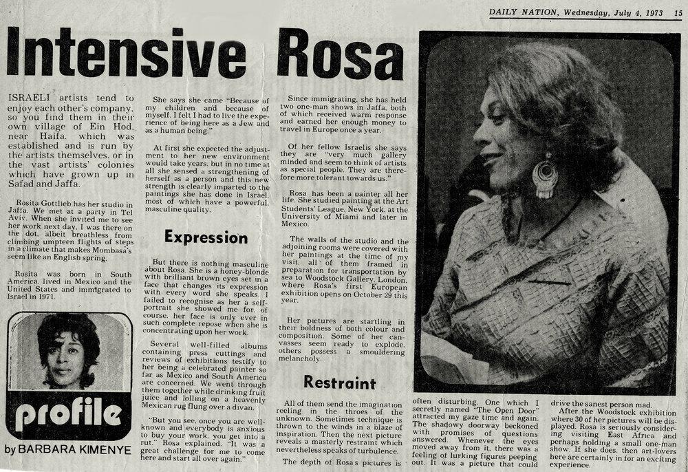 Nairobi Daily Nation - 1973