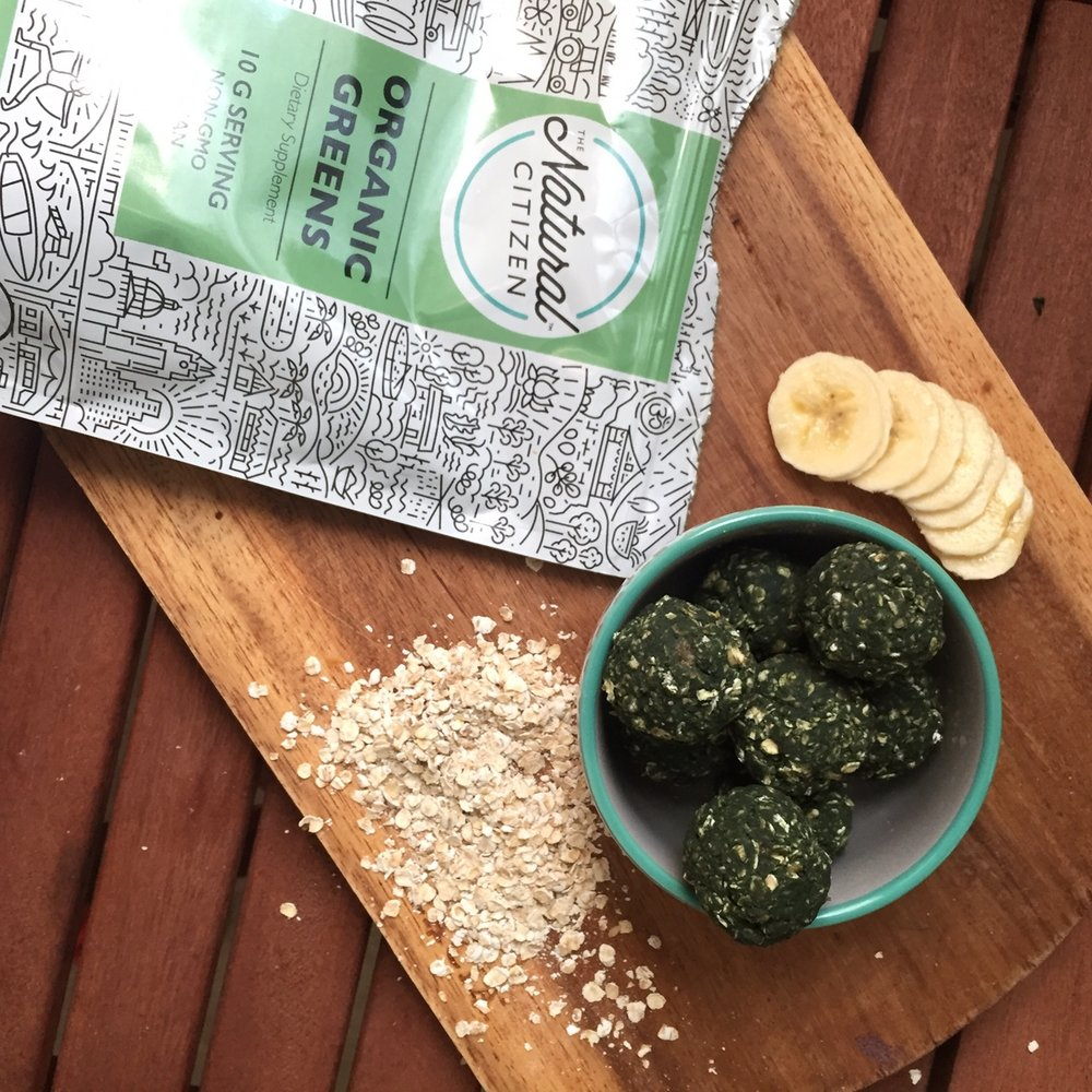 Organic Greens have only 4 ingredients and very little flavor, perfect nutritious punch of the spirulina without the typical overpowering flavor
