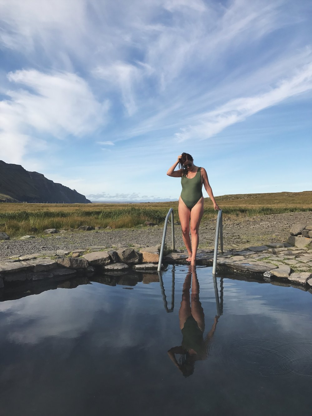 Geothermal pools (or hot pots) are found all over Iceland, you definitely want to pack a swimsuit!