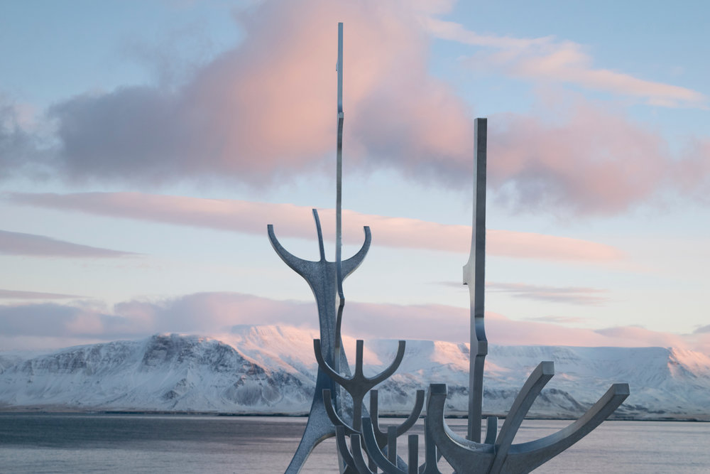 The Sun Voyager sculpture