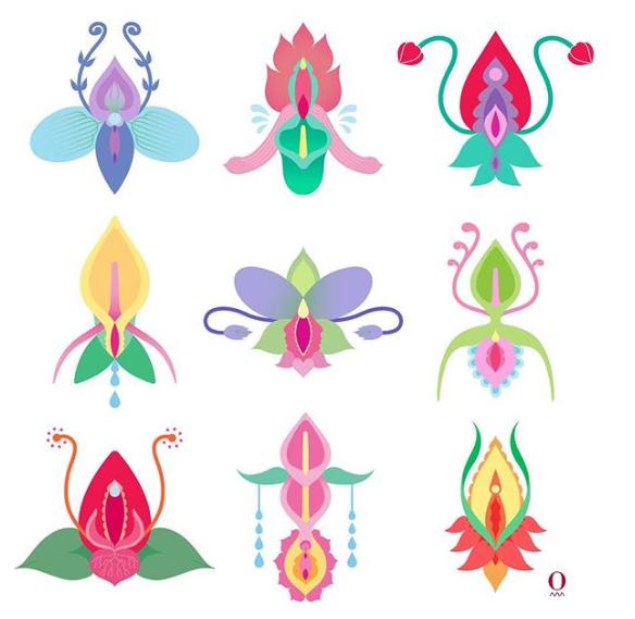 Ecstasy Flowers via  Ouvra