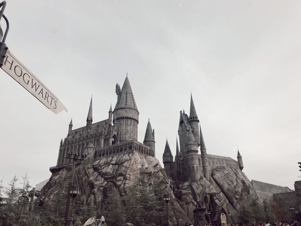 The Forbidden Journey ride is housed inside of Hogwarts