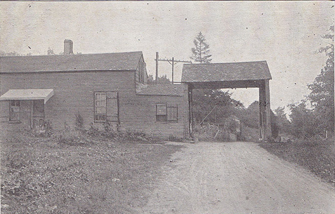 Middle Gate Toll House