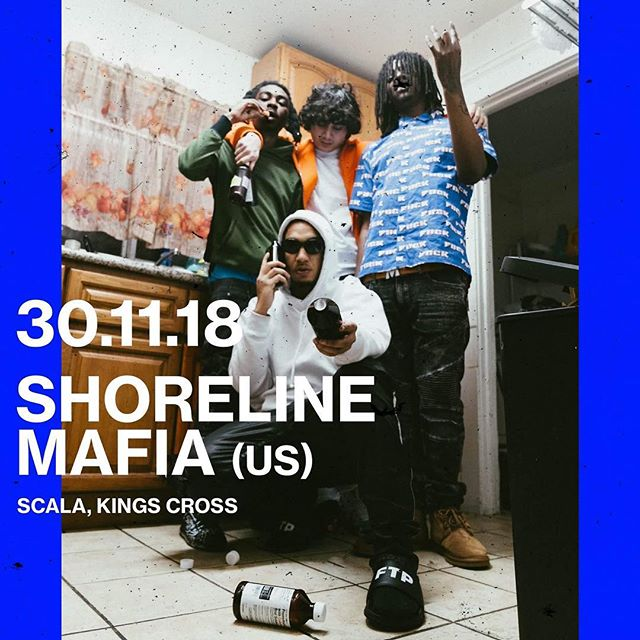 LA Hip hop collective @shorelinemafia hit London on 30th Nov. Don't miss out 💦