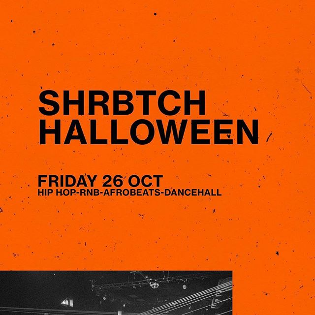 This Friday we're spinning Hip Hop, Rnb, Afrobeats & Dancehall at The Hoxton Pony in Shoreditch for a Halloween Special. Tickets are available now and are cheaper in adv.  Click 'book now' to get yours.