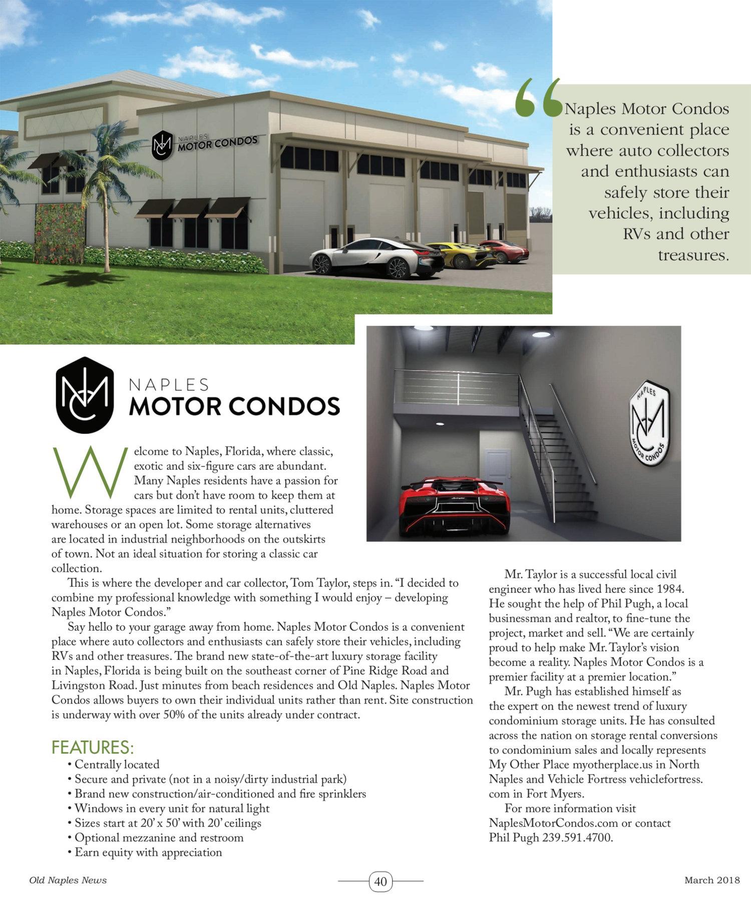 Old Naples News Magazine — Naples Motor Condos